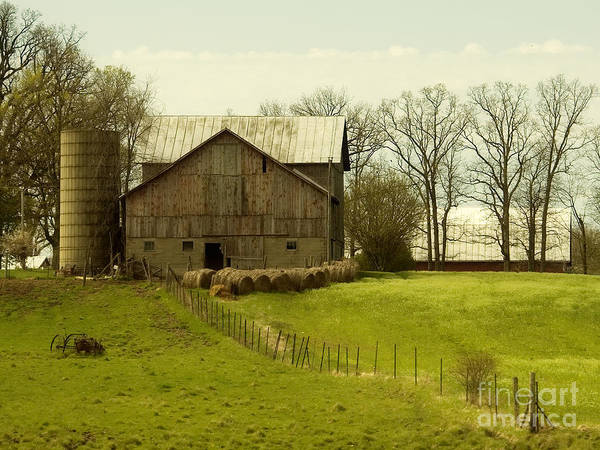 Farms Poster featuring the photograph Rural Americana-01 by Neil Doren
