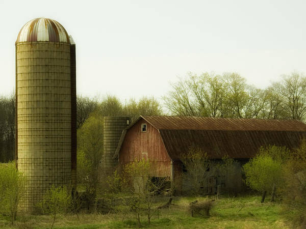 Farm Poster featuring the photograph Rural Americana-02 by Neil Doren