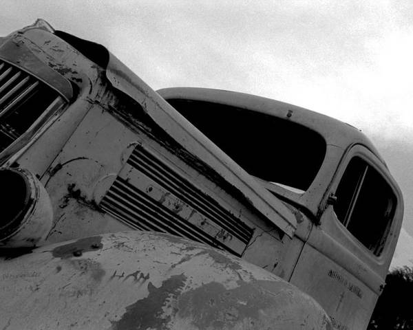 Old Poster featuring the photograph Rusty Car by Johnny Aguirre