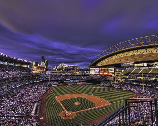 safeco Field Poster featuring the photograph Safeco Field by Dan McManus