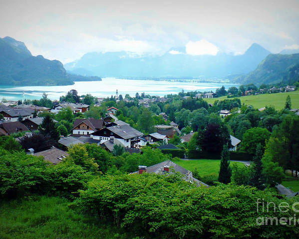 Austria Poster featuring the photograph Salzburg Lake District by Carol Groenen