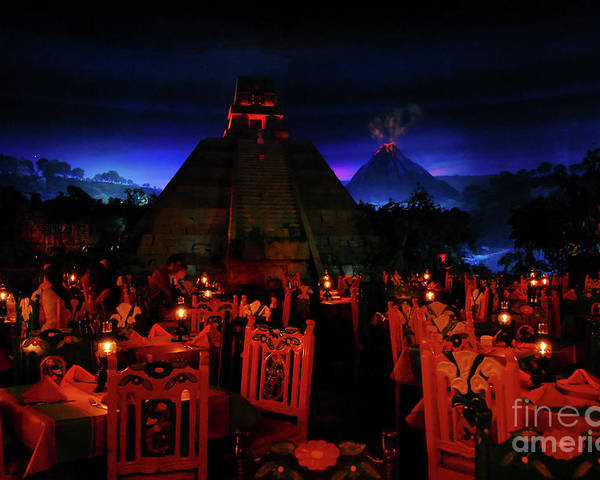 Fine Art Photography Poster featuring the photograph San Angel Inn Mexico by David Lee Thompson