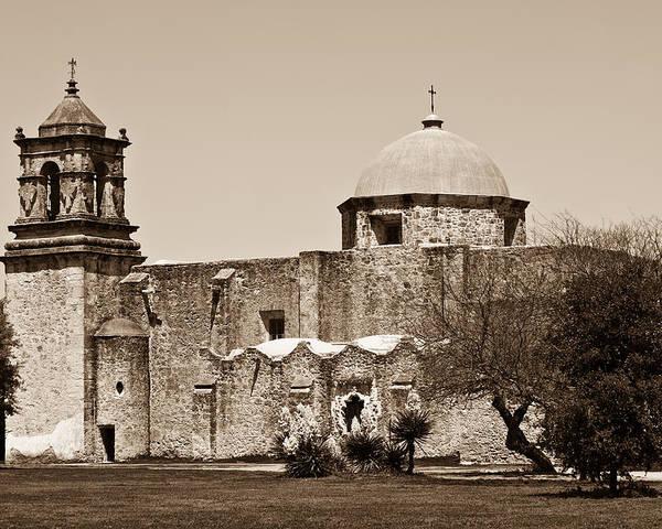 San Antonio Poster featuring the photograph San Antonio by Sebastian Musial