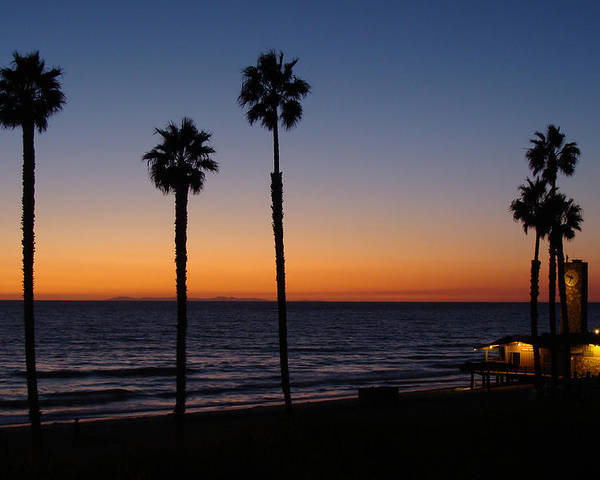 Landscape Poster featuring the photograph San Clemente Sunset by Ty Nichols
