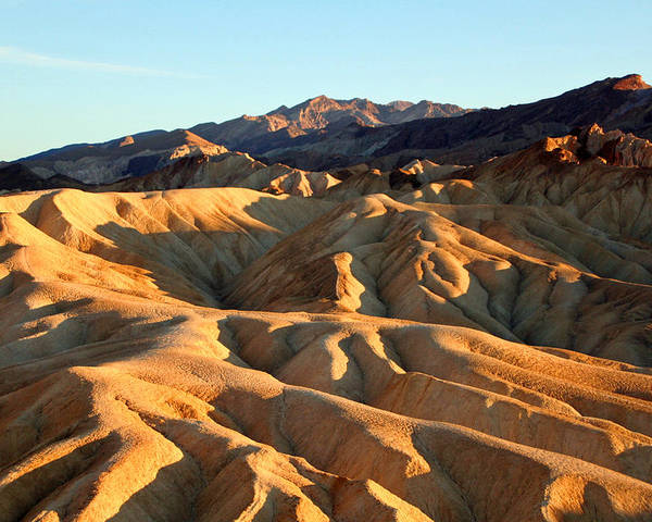 Sand Dunes Poster featuring the photograph Sand Dunes by Alex Antoine