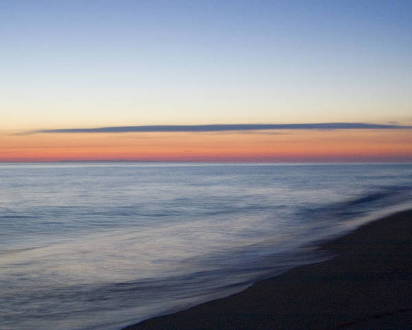 Nantucket Poster featuring the photograph Sciasconset Morning Nantucket by Henry Krauzyk