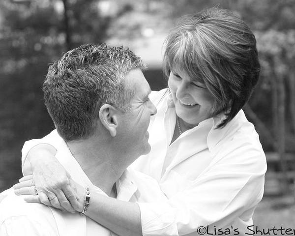 Poster featuring the photograph Scott And Sandi 2 by Lisa Johnston