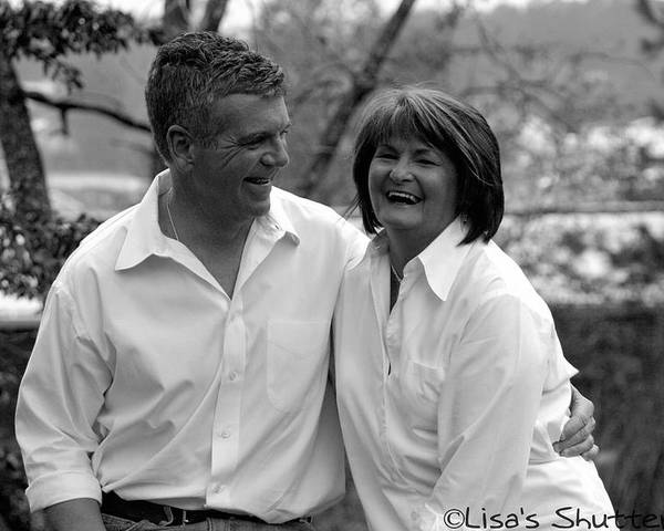 Poster featuring the photograph Scott And Sandi 3 by Lisa Johnston