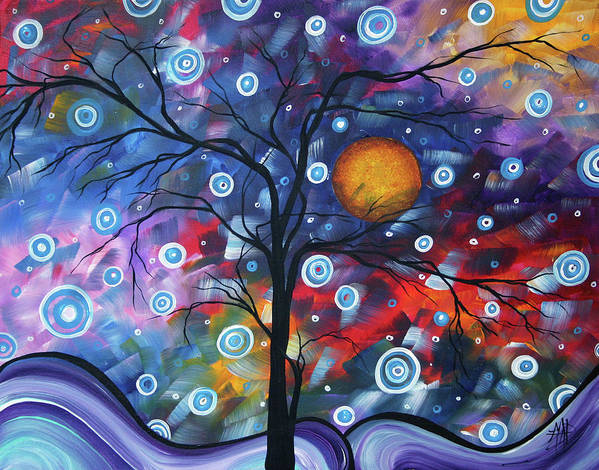 112310 Poster featuring the painting See The Beauty by Megan Duncanson