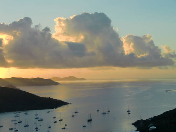 Caribbean Color Poster featuring the photograph Serene Caribbean Morning by Richard Mansfield