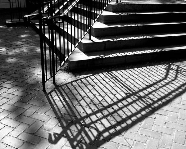 Shadow Poster featuring the photograph Shadows Series-1 by Arlane Crump