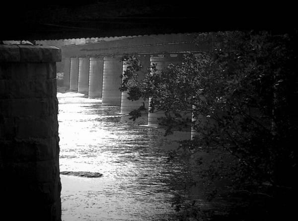Shenandoah River Poster featuring the photograph Shenandoah Train Bridge by Michael L Kimble