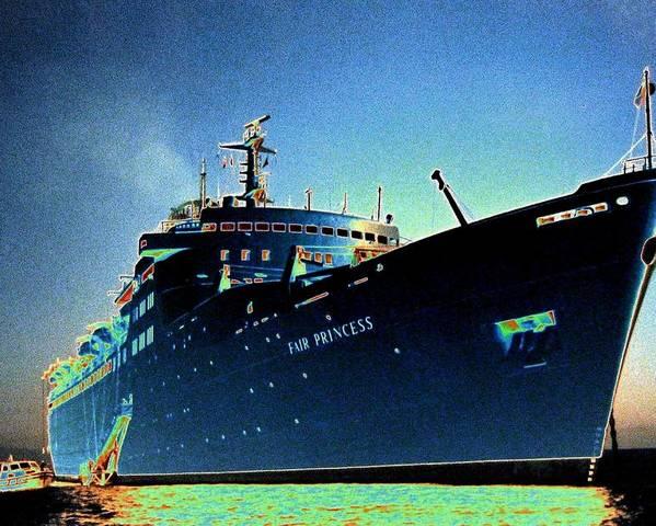 Puerto Vallarta Poster featuring the digital art Shipshape 9 by Will Borden