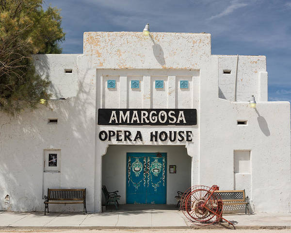Amargosa Poster featuring the photograph Show Tonight Amargosa Opera House by Steve Gadomski
