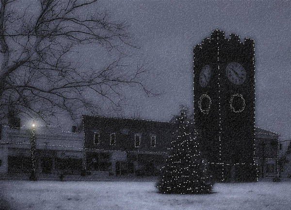Night Poster featuring the photograph Silent Night by Kenneth Krolikowski