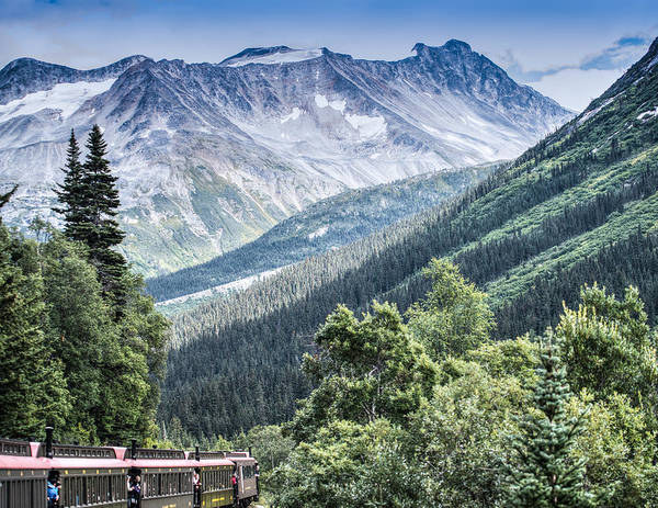 Skagway Poster featuring the photograph Skagway White Pass by Steve Seeger