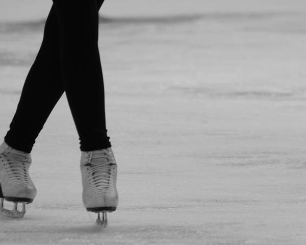 Ice Skate Poster featuring the photograph Skating by Lauri Novak