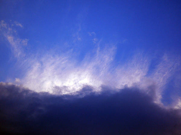 Cloud Poster featuring the photograph Sky2 by Mikael Gambitt
