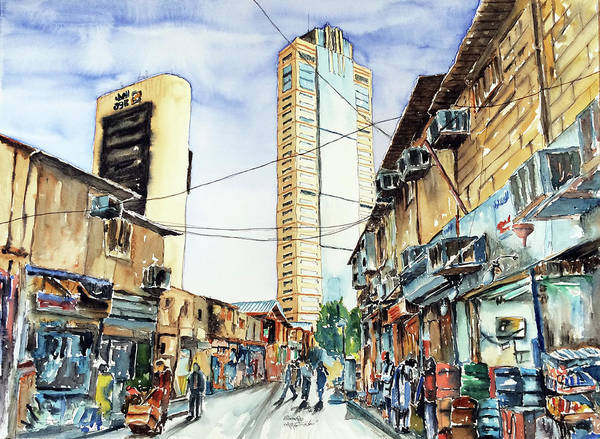 Highrise From Old Market - Kuwait Poster