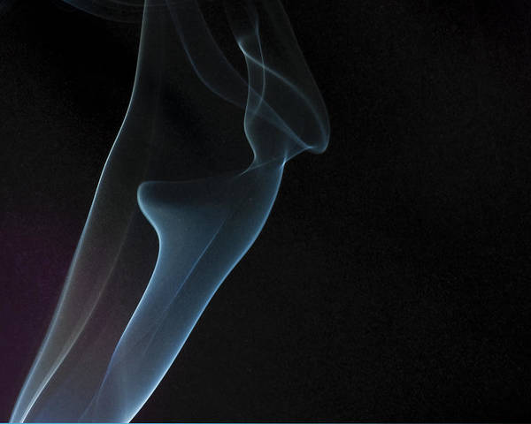 Fum�e Poster featuring the photograph Smoke 7 by Francis Hurtubise
