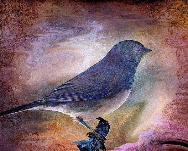 Inspirational Poster featuring the photograph Snowbird Stories... by Arthur Miller