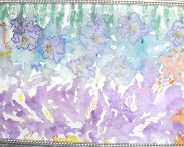 Soft Poster featuring the painting Soft And Pretty by Anne-Elizabeth Whiteway