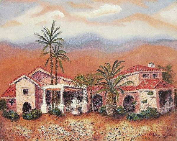 Arizona Poster featuring the painting Someday by Suzanne Marie Leclair