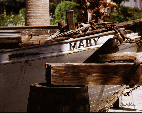Boat Poster featuring the photograph Someting About Mary by David Starnes