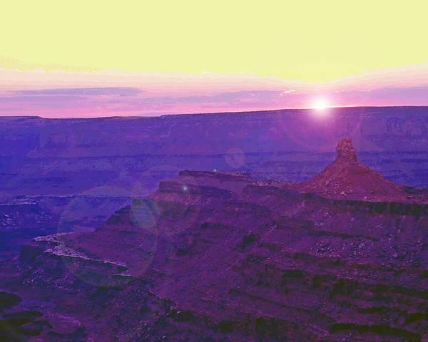 Desert Poster featuring the photograph Southeastern Utah Sunset 2 by Steve Ohlsen