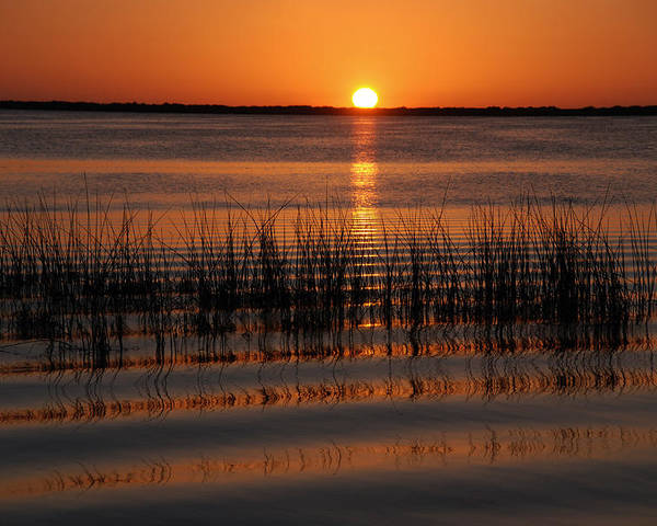 Sunset Poster featuring the photograph Spectacular Sunset by Susanne Van Hulst
