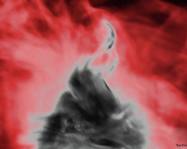 Spirit Poster featuring the photograph Spiritual Flame by Roberta Byram