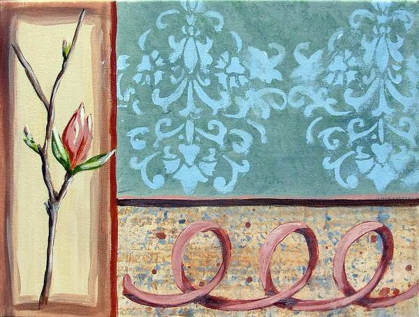 Decorative Poster featuring the painting Spring Fling 2 by Judy Anderson