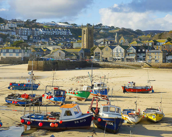 St Ives Poster featuring the photograph St Ives by Elisa Locci
