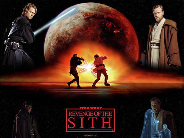 Star Wars Episode Iii Revenge Of The Sith Poster By Maye Loeser