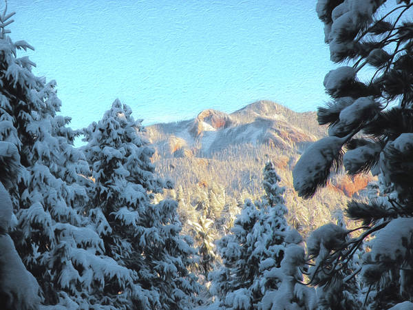 Colorado Poster featuring the photograph Staunton Mountain by Steven Michael