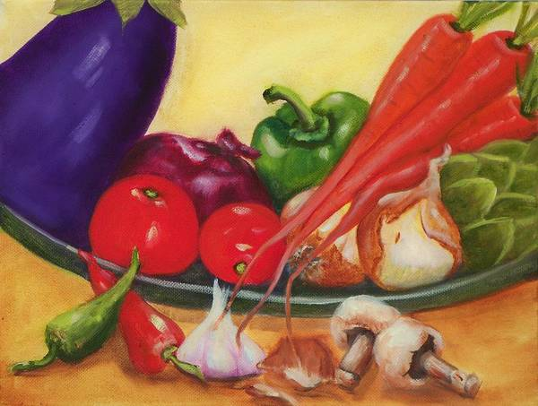 Still Life Poster featuring the painting Still Life 4 by Joni McPherson