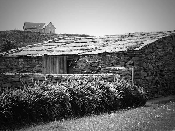 Irish Poster featuring the photograph Stone Structure Doolin Ireland by Teresa Mucha