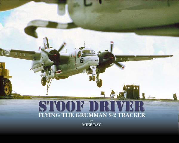 Aviation Poster featuring the digital art Stoofdriver Cover by Mike Ray