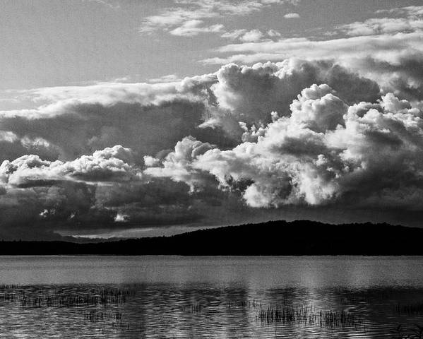 Lake Placid Poster featuring the photograph Storm Over Lake Placid by Terri Morris
