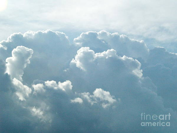 Clouds Poster featuring the photograph Storm Warning by V Humphrey