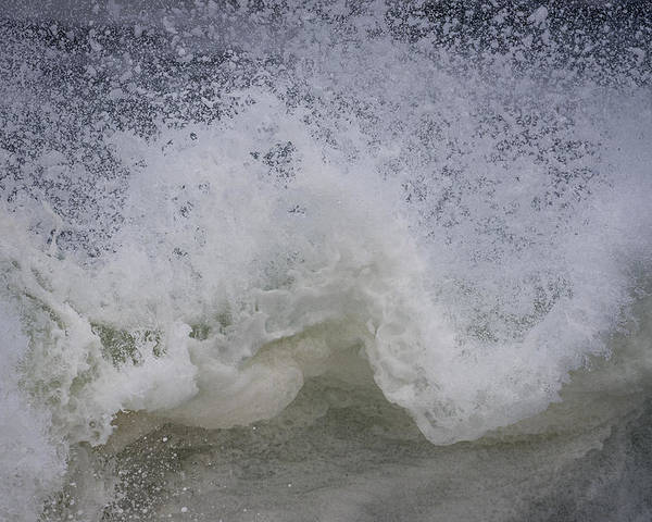 Coast Poster featuring the photograph Stormy Surf by Robert Potts