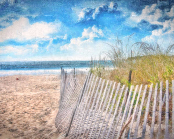 Beach Poster featuring the photograph Summer Time by Gina Cormier
