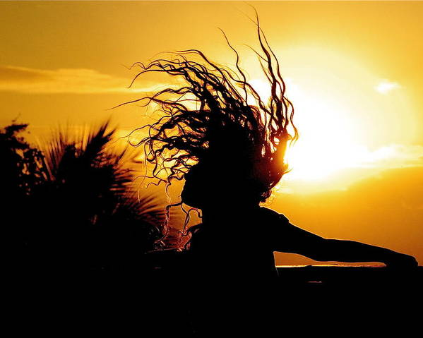 Sunset Poster featuring the photograph Sun Child by Brandon Campbell