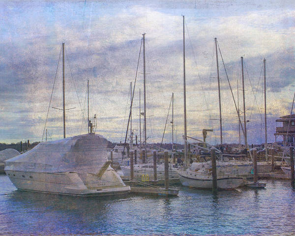 Newport Poster featuring the photograph Sun Setting Sun In Newport by Betty Pauwels