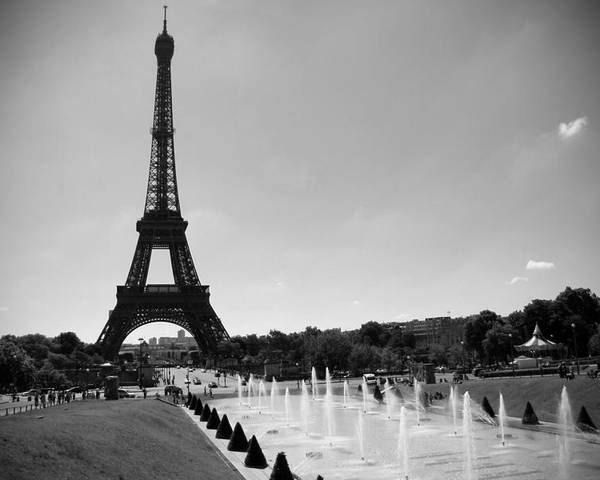 Sunny Day In Paris Poster featuring the photograph Sunny Day In Paris by Kamil Swiatek