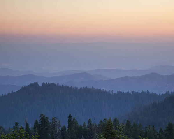 Sequoia National Park Poster featuring the photograph Sunrise Of Sequoia by Rick Pham