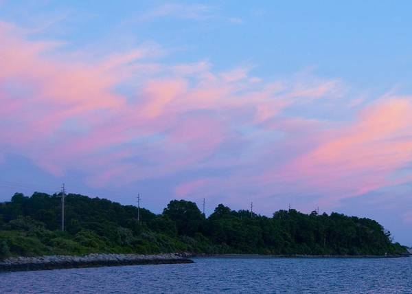 Sunset Poster featuring the photograph Sunset Aquidneck Island by Steven Natanson