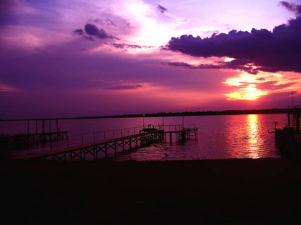 Sunset Photography Poster featuring the photograph Sunset Lake 2 by Evelyn Patrick