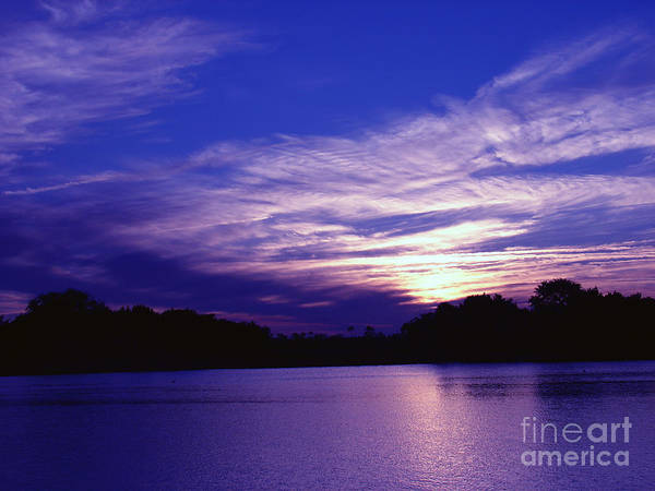 Sunset Poster featuring the photograph Sunset Over The Intercoastal by Tobi Czumak