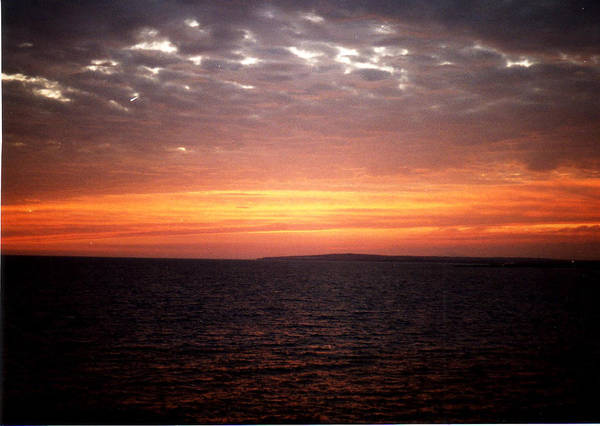Sunset Sky Poster featuring the photograph Sunset Sky by Catt Kyriacou